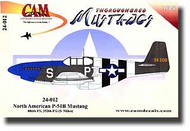 CAM Decals  1/24 P-51B Mustang CMD24012
