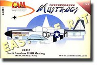 CAM Decals  1/24 P-51B Mustang CMD24013