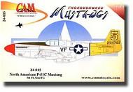 CAM Decals  1/24 P-51B Mustang CMD24015