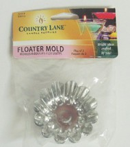 CANDLE MAKING SUPPLIES   N/A Metal Candle Floater Molds (3/Bag) (D)<!-- _Disc_ --> CND50013