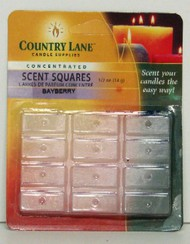 CANDLE MAKING SUPPLIES   N/A Concentrated Scent Square Bayberry 1/2oz. (Blister Cd) (D)<!-- _Disc_ --> CND70701