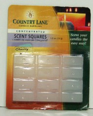 CANDLE MAKING SUPPLIES   N/A Concentrated Scent Square Cherry 1/2oz. (Blister Cd) (D)<!-- _Disc_ --> CND70702