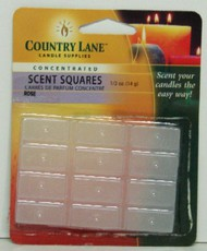 CANDLE MAKING SUPPLIES   N/A Concentrated Scent Square Rose 1/2oz. (Blister Cd) (D)<!-- _Disc_ --> CND70720