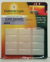 CANDLE MAKING SUPPLIES   N/A Concentrated Scent Square Spice 1/2oz. (Blister Cd) (D)<!-- _Disc_ --> CND70721
