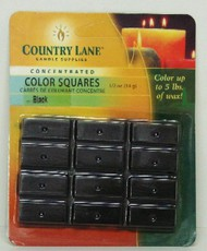 CANDLE MAKING SUPPLIES   N/A Concentrated Color Square Black 1/2oz. (Blister Cd) (D)<!-- _Disc_ --> CND90601