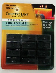 CANDLE MAKING SUPPLIES   N/A Concentrated Color Square Forest Green 1/2oz. (Blister Cd) (D)<!-- _Disc_ --> CND90602