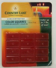 CANDLE MAKING SUPPLIES   N/A Concentrated Color Square Orange 1/2oz. (Blister Cd) (D)<!-- _Disc_ --> CND90609