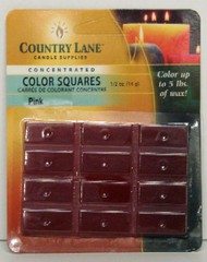 CANDLE MAKING SUPPLIES   N/A Concentrated Color Square Rose Pink 1/2oz. (Blister Cd) (D)<!-- _Disc_ --> CND90616