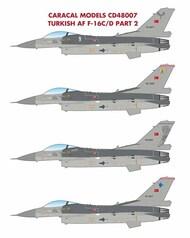 F-16C F-16D Falcon Turkish Air Force Pt 2* #CARCD48007