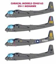 Caracal Models  1/48 Grumman OV-1 Mohawk - Pre-Order Item CARCD48165