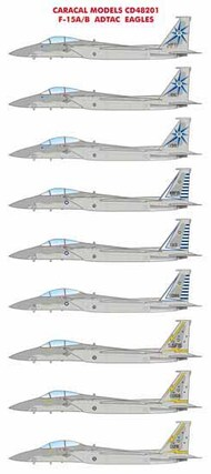 Caracal Models  1/48 McDonnell F-15A/B ADTAC Eagles - Pre-Order Item CARCD48201