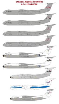 Caracal Models  1/144 Lockheed C-141B Starlifter - Pre-Order Item CARCD144002