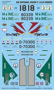 Air National Guard McDonnell F-101B Voodoo - Part 1. #CD48010