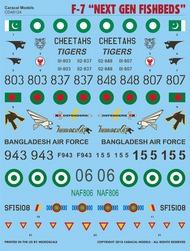 F-7 'Next Gen Fishbeds' #CD48124