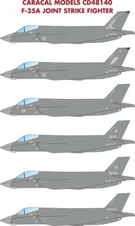F-35A Joint Strike Fighter #CD48140