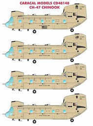 Boeing CH-47 Chinook Multiple international marking #CD48148