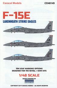 F-15E Strike Eagle 'Lakenheath Strike Eagles' #CD48149
