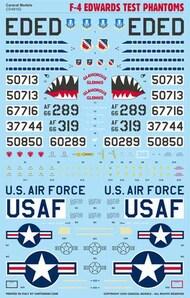 Caracal Models  1/48 F-4 'Edwards Test Phantoms' - Pre-Order Item CD48162