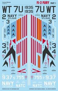 Caracal Models  1/48 North-American FJ-2 Fury - Part 1 - Pre-Order Item CD48171