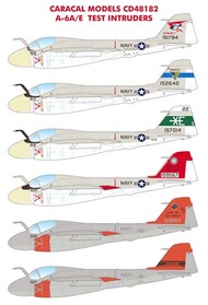 Caracal Models  1/48 Grumman A-6A/E Test & Eval Intruders EXPECTED IN SEPTEMBER!!! - Pre-Order Item CD48182