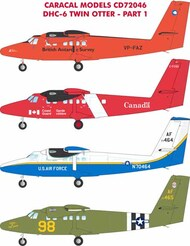 de_Havilland_Canada DHC-6 Twin Otter Multiple military & civilian marking #CD72046