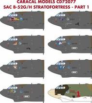 Boeing Strategic Air Command B-52G/H Stratofortress : Part 1 #CD72077