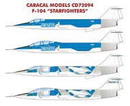 Lockheed F-104 Starfighters - Pre-Order Item #CD72094