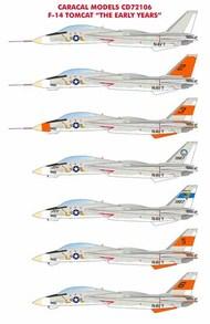Grumman F-14 Tomcat - The Early Years #CD72106