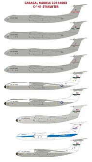 Caradecal  1/144 NOT YET! C-141 Starlifter - Pre-Order Item CRC144002