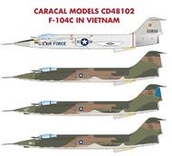 Caradecal  1/48 F-104C in Vietnam - Pre-Order Item CRC48102