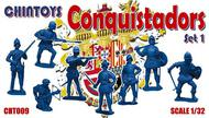 Chintoys  1/32 Conquistadors. Set 1 (NO BOX. THIS IS POLY BAGGED) CHT009