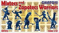 Chintoys  1/32 Mixtecs and Zapotecs Warriors (NO BOX. THIS IS POLY BAGGED) CHT015