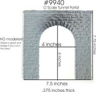 Chooch Enterprises  O Cut Stone Portal CHO9940