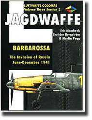 Classic Aviation Publications   N/A Collection - Luftwaffe Colours: Jagdwaffe Vol.3 Sec.2 Barbarossa The Invasion of Russia June-Dec. 1941 CLU210