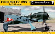Focke Wulf Fw.190V-1 'The First Prototype' #CRA8009