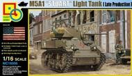 Classy Hobby  1/16 M5A1 Stuart Late Production Light Tank CSY16006