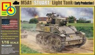 Classy Hobby  1/16 M5A1 Stuart Early Production Light Tank - Pre-Order Item CSY16007