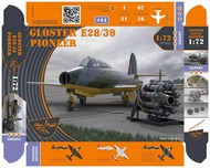 Gloster E-28/39 Pioneer 'Gloster Whittle' #CP72001