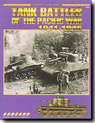 Concord Publications   N/A Tank Battles Pacific War '41/45 CPC7004