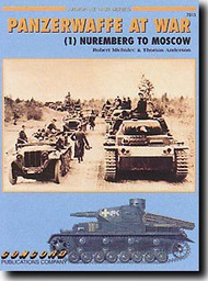 Concord Publications   N/A Collection - Panzerwaffe at War, Nuremburg to Moscow (Vol.1) CPC7013