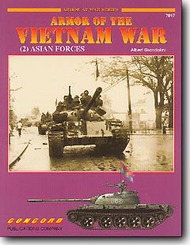 Concord Publications   N/A Armor of the Vietnam War: #2 Asian Forces CPC7017