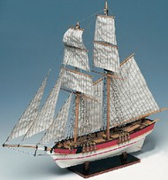Constructo Wood Models  1/100 Flyer Double-Masted American Schooner Ship w/solid wood hull (Intermediate) CNS80615