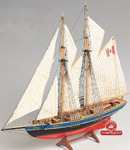 Constructo Wood Models  1/135 Bluenose II Double-Masted Fishing Schooner Ship w/solid wood hull (Intermediate) CNS80618
