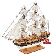 Constructo Wood Models  1/110 HMS Bounty 3-Masted Frigate Ship w/solid wood hull (Intermediate) CNS80621
