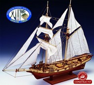 Constructo Wood Models  1/55 Albatros Double-Masted Baltimore 1840 Schooner Ship w/plank-on frame (Intermediate) CNS80702