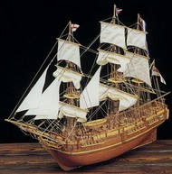 Constructo Wood Models  1/50 HMS Bounty 3-Masted Frigate Ship w/plank-on frame (Advanced) CNS80817