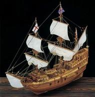 Mayflower 4-Masted England 1620 Sailing Ship w/plank-on frame (Advanced) #CNS80819