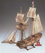Constructo Wood Models  1/35 Halifax Double-Masted England 1768 Schooner Ship w/plank-on frame (Advanced) CNS80826