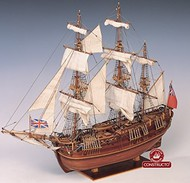 Constructo Wood Models  1/60 HMS Endeavour 3-Masted England XVIII Sailing Ship w/plank-on frame (Advanced) CNS80832