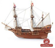 Constructo Wood Models  1/55 Golden Hind 3-Masted British Galleon Ship w/plank-on frame (Advanced) CNS80844
